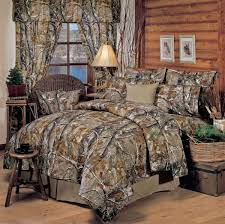 Cabin Bed Sets Adorable Lake Cabin Bedding Using Camouflage Quilt Pattern For