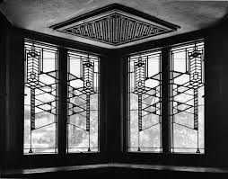 Home Windows Glass Design Robie House In Chicago By Frank Lloyd Wright Stained Glass