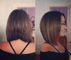 pictures of graduated long bobs pin by anna obrecht on triangular graduation pinterest