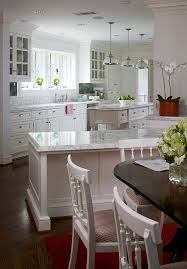 Red Kitchen With White Cabinets Design Ideas For White Kitchens Traditional Home