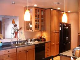 astonishing galley kitchen lighting layout photo design ideas