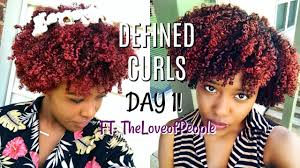 3c 4a curl definition on day 1 hair routine for healthy