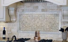 Stone Mosaic Tile Kitchen Backsplash by Stone Tile Kitchen Backsplash Zyouhoukan Net