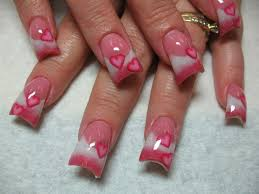 one hundred styles valentine day nail art designs