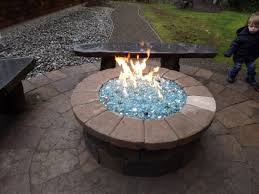 Propane Coffee Table Fire Pit by Propane Fire Pit With Glass Can Build This Fire Pit For You Or