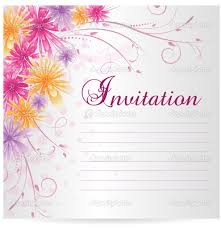 template for invitation best template collection