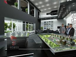 office interior 3d architectural rendering corporate offices 3d rendering
