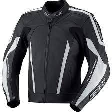 ixs kuma leather jacket black white motorcycle jackets ixs xact