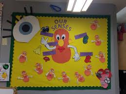 5 senses bulletin preschool bulletin boards pinterest