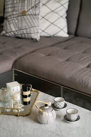 Julias Wohnzimmer Linz Living Room Update Marmor U0026 Gold Details Fashion Equals Science