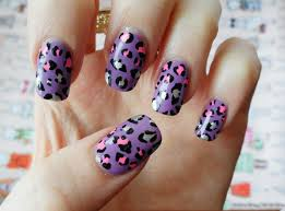 how to get healthy strong and beautiful nails leopard print