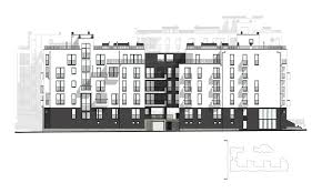 Mixed Use Building Floor Plans by Mixed Use Development On Pasichna Str Lviv Ukraine On Behance