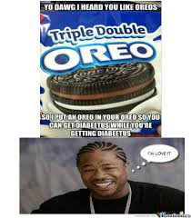 Oreo Memes - triple double oreo by takahood meme center