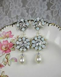 Bridal Chandelier Earrings Chandelier Wedding Jewelry