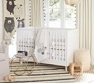 breathable mini crib bumper pottery barn kids