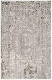 Cream And Grey Area Rug by Grey Watercolor Carpet Valencia Area Rugs Safavieh Com