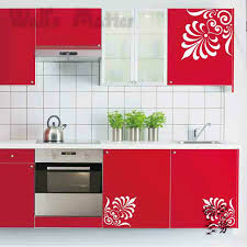 Kitchen Cabinet Decals Kitchen Cabinet Decals Hbe Shining Decorative Stickers For