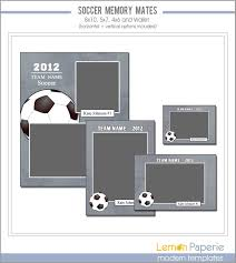 soccer memory mate templates sports template psd photoshop