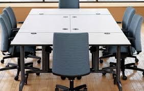 Hon Conference Table Hon U0027s Heroic Huddle Tables Promote On The Spot Collaboration 3rings