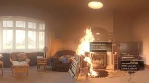 house inside fire service puts the public inside a burning house via virtual