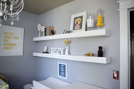 Small White Shelves by Ana White Nursery Shelves Diy Projects