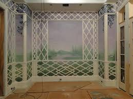studio sandi murals and trompe l u0027oeil trellis breakfast room15 jpg