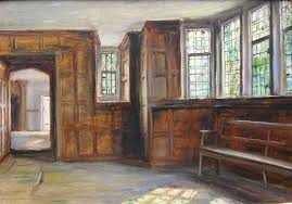 frank moss bennett the little parlour painted by frank moss