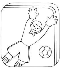 elmo sesame street goal keeper soccer coloring pages boys