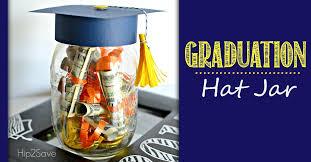 middle school graduation gifts graduation hat jar graduation gift idea hip2save