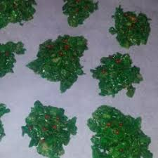 christmas cornflake wreath cookies photos allrecipes com
