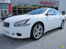 white nissan 2012 2012 nissan maxima 3 5 sv sport in winter frost white 804651