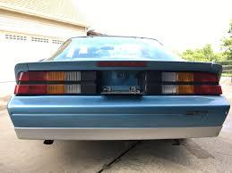 1989 camaro rs for sale michigan 1989 blue camaro rs t tops third generation f