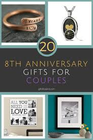 8th anniversary gift ideas for wedding gift creative 8th wedding anniversary gift ideas for