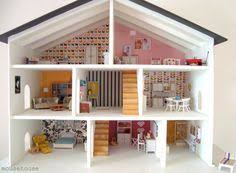 How To Make A Dollhouse Out Of A Bookcase Stunning Doll House Doll Houses And More Pinterest Doll