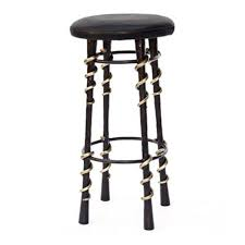 kelly wearstler serpent stool wrought steel seating bar