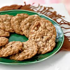 thanksgiving cookies recipe oatmeal toffee cookies recipe myrecipes