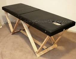 how to build a physical therapy mat table massage table plans free print ready pdf download massage table