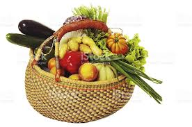 basket of fruit harvest basket of fruit and vegetables stock photo 183042959 istock