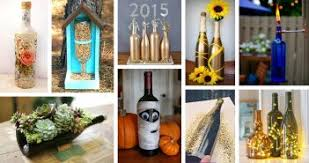 Diy Wine Bottle Decor by 37 Best Repurposed Diy Wine Bottle Craft Ideas And Designs For