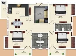 1400 sq ft 3 bhk floor plan image india the temple tellurian