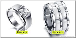 steel titanium rings images Titanium vs stainless steel rings png