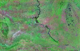 Map Of Sd South Dakota Satellite Images Landsat Color Image