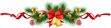 christmas garland image transparent christmas pine garland with gold bells clipart