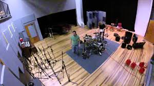 studio drum setup fast motion gopro hero3 san marcos
