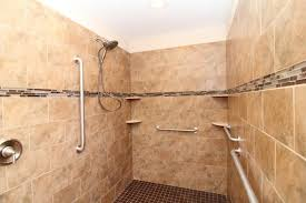 travertine bathroom ideas accessories handicap shower accessible systems for your bathroom