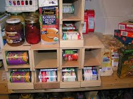 diy kitchen pantry ideas first in first out shelf plans diy fifo can storage kitchen or