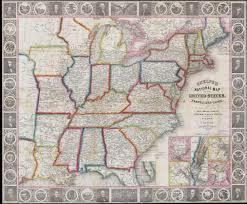 Map Of Te United States by File 1848 Phelps National Map Of The United States Pocket Map