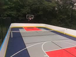 Build A Basketball Court In Backyard Garden Gym On Pinterest Backyard Basketball Court And Putting