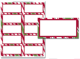 christmas labels templates for word u2013 christmas fun zone