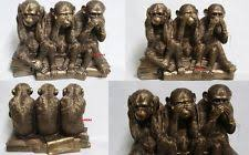 ornaments figurines monkey ape collectables ebay